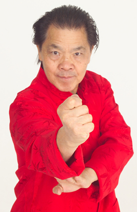Wing chun kung fu martial arts grandmaster William Cheung as seen in Black Belt magazine.